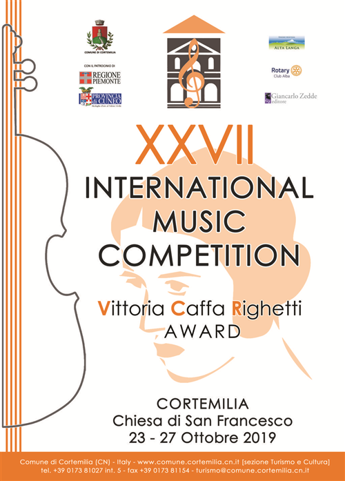 INTERNATIONAL MUSIC COMPETITION Ed.2019